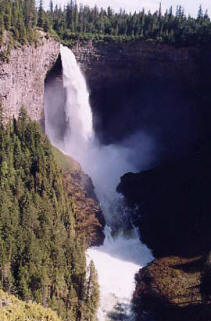 Helmcken Falls, Wells Gray Park, Clearwater, BC, Canada