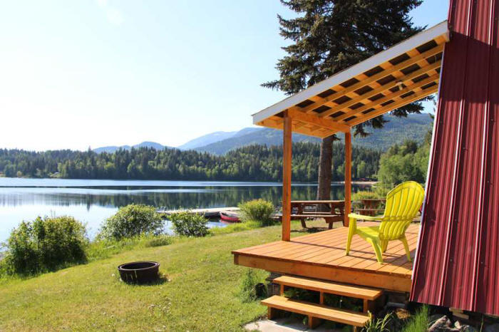 Dutch Lake Resort Clearwater Bc Canada Wells Gray Country
